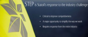 STEP - Statoil technical efficiency program