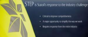 STEP - Statoil technical efficiency program