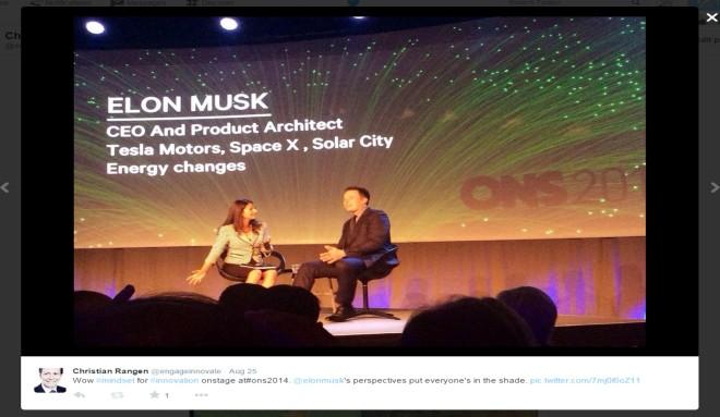 Musk at ONS